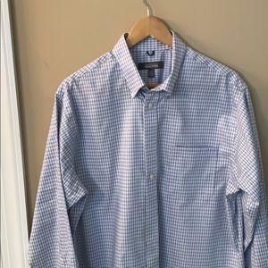 Men's L Button Down Shirt Kenneth Cole Reaction